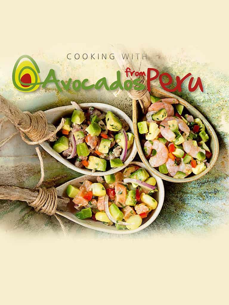 Cocinando con paltas del Perú