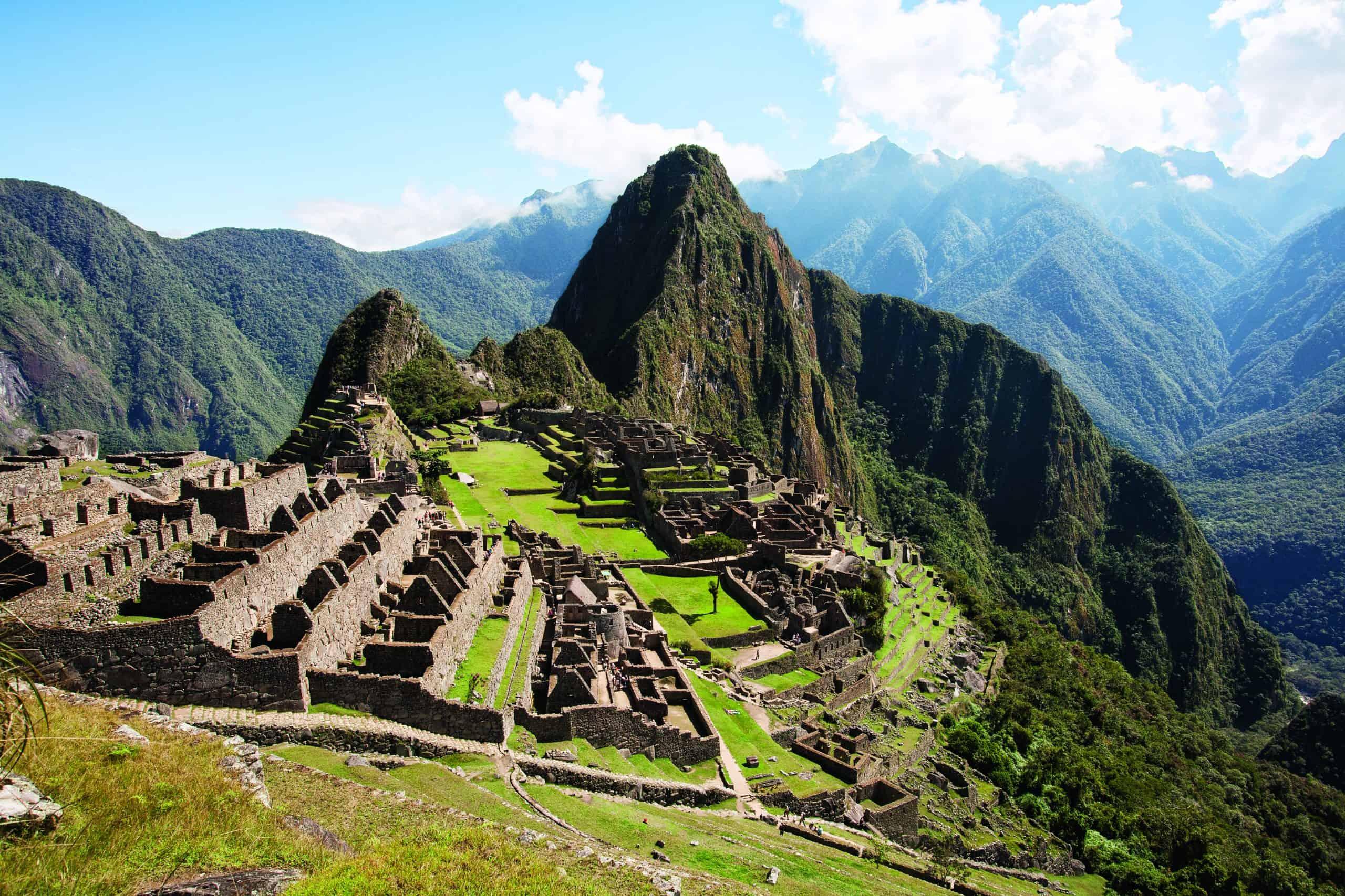 Ciudadela de Machu Picchu.