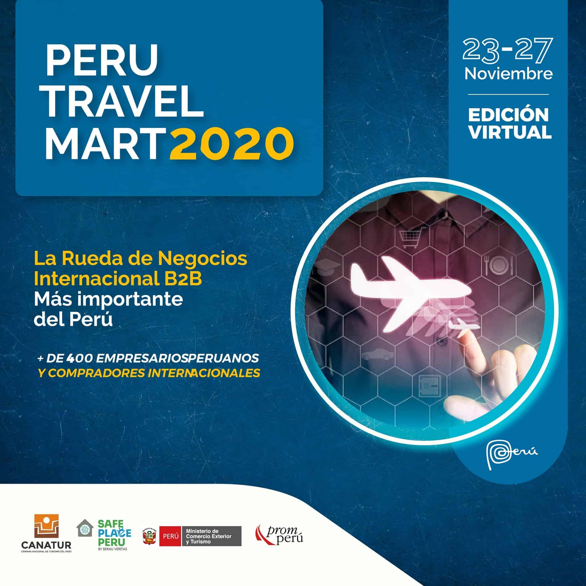 flyer Peru travel mart